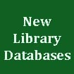 Library Adds 3 New Databases