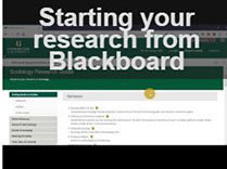 Research tutorials available on YouTube